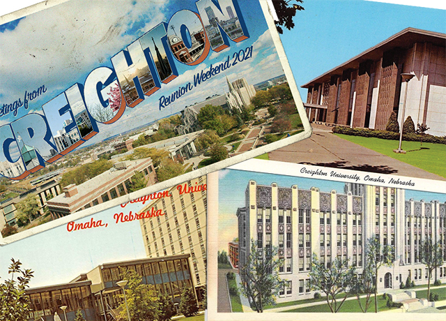 Creighton postcards