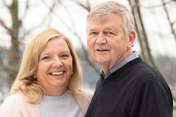 Arne Ness and Anne Christensen