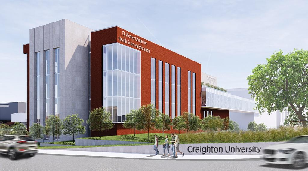 Werner Center rendering