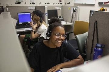 Kiara Mills, Phonathon caller, Class of 2022